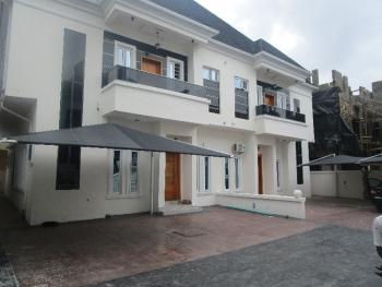 Luxury 3 Bedroom Terraced Duplex with Excellent Facilities, Chevron Drive, Lafiaji, Lekki, Lagos, Terraced Duplex for Rent