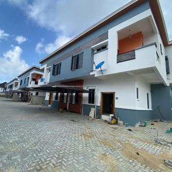 Fully Serviced 4 Bedroom Semi Detached, Chevron, Lekki Phase 2, Lekki, Lagos, Semi-detached Duplex for Sale