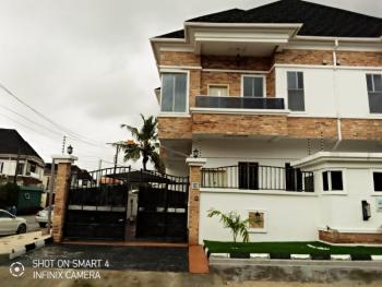 Luxurious Newly Built 4 Bedroom Duplex with a Bq, Ikota Villa Estate Behind Mega Chicken, Ikota, Lekki, Lagos, Semi-detached Duplex for Sale