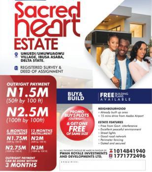 Land, Sacred Heart Estate Asaba, Asaba, Delta, Mixed-use Land for Sale