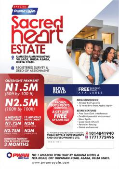 Land, Ibusa Bypass Road, After Nigeria Immigration State Hq., Asaba, Delta, Land for Sale