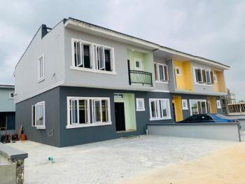 Exclusive Luxury Newly Built 3 Bedroom Duplex Plus Bq, Wealthland Green Estate, Oribanwa, Lekki, Lagos, Terraced Duplex for Sale