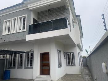 Luxury 4 Bedroom Semi-detached Duplex with Bq, Oba Akinloye Street, Oral Estate, Lekki, Lagos, Semi-detached Duplex for Rent