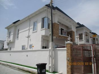 4 Bedroom Fully Detached Duplex with 1 Bq., Orchid Road, After Second Toll Gate, Lafiaji, Lekki, Lagos, Detached Duplex for Sale
