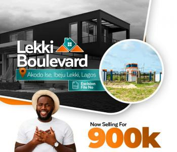 Dry Land Available, Gated & Fenced, Lekki Boulevard Estate, Akodo Ise, Ibeju Lekki, Lagos, Residential Land for Sale