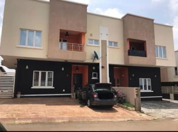 Tastefully and Luxury 4 Bedroom Semit Detached with a Bq, Life Camp, Jabi, Abuja, Semi-detached Duplex for Sale