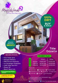 Gazetted Estate Land, Siriwon, After Dangote Refinery & Before La Campagne Tropicana, Siriwon Town, Ibeju Lekki, Lagos, Residential Land for Sale