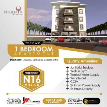 1 Bedroom Apartment, Phoenix Apartment, Aguda, Surulere, Lagos, Block of Flats for Sale