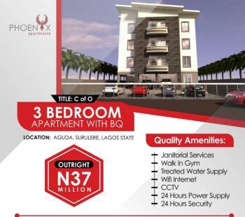 Luxury 3 Bedroom Flats at Phoenix Apartments., Aguda, Surulere, Lagos, Flat for Sale