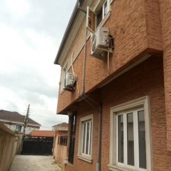 Nicely Renovated 3 Bedrooms Up Flat All Ensuite+guest Toilet+kitchen, Millennium Estate, Gbagada, Lagos, Flat for Rent