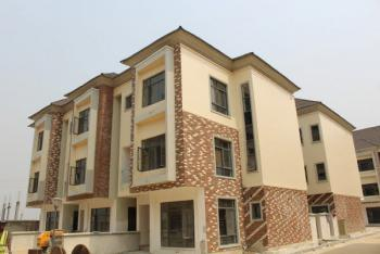 a Nice and Lovely 4 Bedroom Terrace with Bq, Osapa, Lekki, Lagos, Terraced Duplex for Rent
