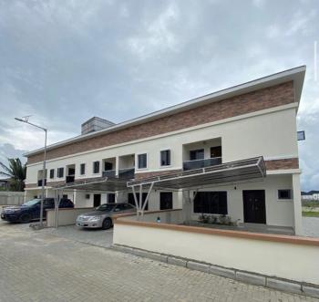 Newly Built 3 Bedroom Terrace Duplex in Spacious  Mini Court, 2nd Toll Gate, Lekki Phase 2, Lekki, Lagos, Terraced Duplex for Sale