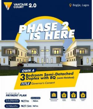 Vantage Court, Bogije, Bogije, Ibeju Lekki, Lagos, Semi-detached Duplex for Sale