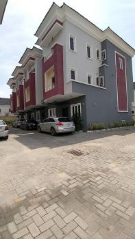 Clean 4 Bedrooms Serviced Duplex Power Supply and Air Conditioners, Off Circle Mall,osapa Jakande, Lekki, Lagos, Terraced Duplex for Rent