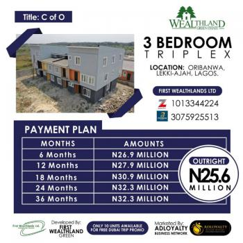 3 Bedroom Triplex, Ajah, Lagos, Detached Duplex for Sale
