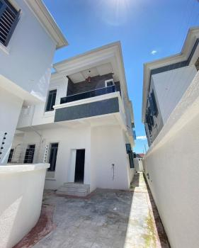 Lovely 4 Bedroom Semi-detached with a Room Bq, 2nd Toll Gate, Chevron, Lekki, Lagos, Semi-detached Duplex for Sale
