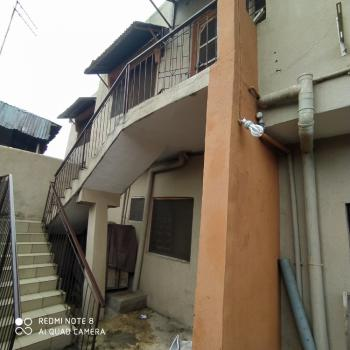 Beautiful 3 Bedroom Flat (upstairs) Fenced, with Separate Staircase, Off Lawal Street, Oregun, Ikeja, Lagos, Flat for Rent