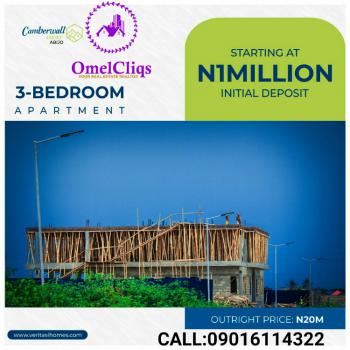Camberwall Court, Abijo Gra, Abijo, Lekki, Lagos, Terraced Bungalow for Sale