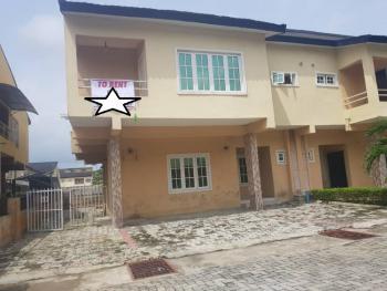 Lovely 3 Bedroom Terrace Duplex, Lekki Garden Phase 3, Ado, Ajah, Lagos, Terraced Duplex for Rent