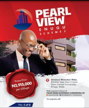 530sqm of Pearl View Estate Scheme 2 Residential Land, Emene, Abakpa Nike, Enugu, Enugu, Residential Land for Sale