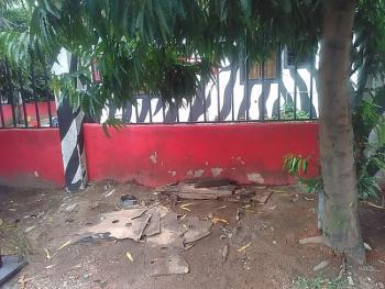 1,500sqm Corner Piece with Bungalow on It, Fenced Round, Directly on Wempco Road, Ogba, Ikeja, Lagos, Commercial Land for Sale