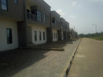 Nicely Finished 3 Bedroom Terrace Duplex on One Suspended Floor, Less Than 4 Mins After Sunnyvale Estate Gate, Dakwo, Abuja, Terraced Duplex for Sale