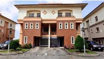 4 Bedroom Semi Detached House with 2 Rooms Bq Lock Up Garage, Living Gold Estate, Banana Island, Ikoyi, Lagos, Semi-detached Duplex for Rent