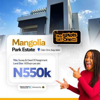 Buy 5 Get 1 Free, Magnolia Park Estate, Ode-omi,, Akodo Ise, Ibeju Lekki, Lagos, Residential Land for Sale