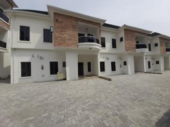 4 Bedroom Serviced Terrace, Conservation Way By Chevron Toll Gate, Lekki Phase 2, Lekki, Lagos, Terraced Duplex for Rent