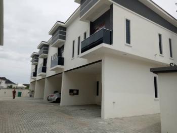 Self-serviced Newly Built 4 Bedroom Terrace in a Secured Estate, Ikota Villa Estate, Lekki, Lagos, Terraced Duplex for Rent