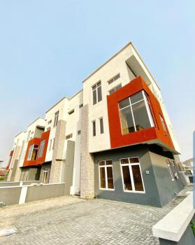 Fully Serviced Modern 4 Bedroom Semi Detached Duplex with Bq, Osapa London,by Lekki Phase 1., Osapa, Lekki, Lagos, Semi-detached Duplex for Rent