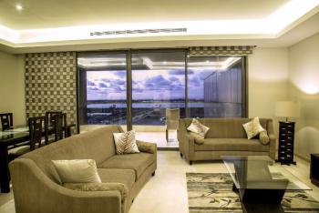 Luxury 3 Bedroom Comes with Free Wi-fi, Etc, Eko Atlantic, Victoria Island Extension, Victoria Island (vi), Lagos, Self Contained (single Rooms) Short Let