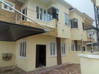 Newly Built Semi Detached, Alpha Beach Road Before Chevron Round About, Igbo Efon, Lekki, Lagos, Semi-detached Duplex for Sale