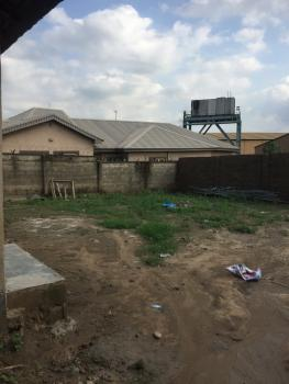 Dry Land Fenced Round with Gate, with a 2 Bedroom Bungalow, Very Close to Magboro Bus Stop , Off Lagos Ibadan Express Way, Magboro, Ogun, Residential Land for Sale