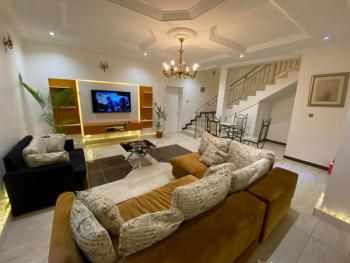 White Villa Luxury 3 Bedrooms Duplex with Excellent Facilities, Chevy View Estate, Lekki, Lagos, Detached Duplex Short Let