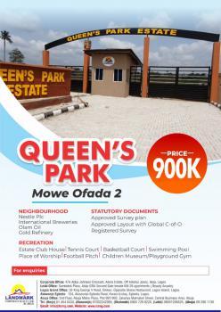 Queens Park 2, Mowe Ofada, Mowe Ofada, Ogun, Land for Sale