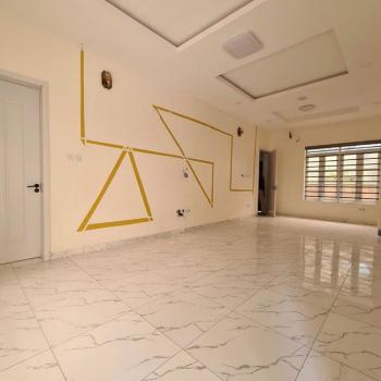 Serviced Luxury 4 Bedroom Terrace Duplex with Bq, 2nd Toll Gate, Lekki, Lagos, Terraced Duplex for Rent
