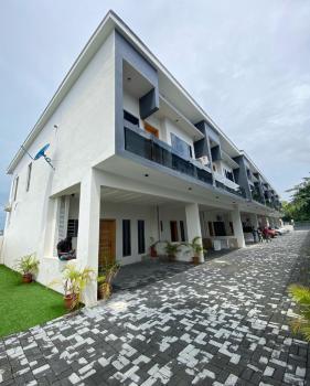 Serviced 4 Bedroom Terrace with Bq, By Lekki Conservation, Lekki Expressway, Lekki, Lagos, Terraced Duplex for Rent