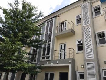 a Tastefully Finished, Serviced, New 4 Bedroom Terrace Duplex with 1 Bq., Lifecamp District, Life Camp, Gwarinpa, Abuja, Terraced Duplex for Rent