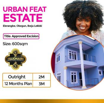 Cheapest Excised Land Urban Feat Estate, Ibeju Lekki, Eleranigbe, Ibeju Lekki, Lagos, Mixed-use Land for Sale