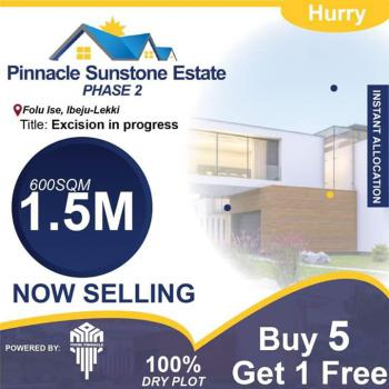 Affordable Land Facing The Road, Pinnacle Sunstone Estate, Folu Ise, Ibeju Lekki, Lagos, Mixed-use Land for Sale