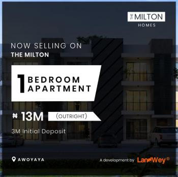 Beautifully Finished One Bedroom Apartment with Good Title, Close to Coscharis Motors, Ajah, Lagos, Mini Flat for Sale