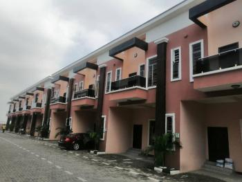 Serviced 4 Bedroom Terrace Duplex All Rooms Ensuite, Chevron, Lekki Phase 2, Lekki, Lagos, Terraced Duplex for Rent