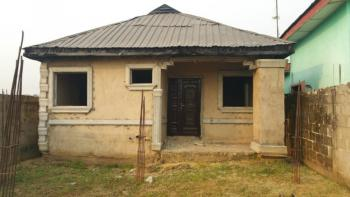2 Bedroom Bungalow with a Shop & Foundation of a Duplex in Front, Obadore Igando, Alimosho, Lagos, Flat for Sale