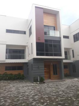 a Luxury Finish 4 Bedroom Terrace with Boys Quarters, Off Agungi Road, Agungi, Lekki, Lagos, Terraced Duplex for Sale