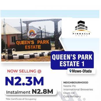 Plots of Land in an Estate, Queens Park Estate 1, Mowe Ofada, Ogun, Residential Land for Sale