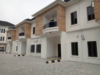 Newly Built 4 Bedroom Terraced Duplex with Lovely Facilities, Chevron, Lekki Free Trade Zone, Lekki, Lagos, Terraced Duplex for Rent