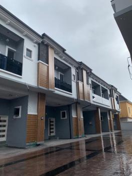 Spacious 4 Bedroom Terrace Duplex in a Fully Serviced Estate, Chevron, Lekki Phase 2, Lekki, Lagos, Detached Duplex for Sale