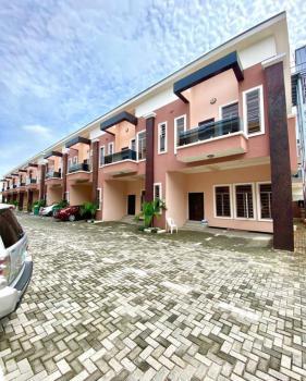 Fully Serviced 4 Bedroom Terrace Duplex., Chevron., Lekki, Lagos, Terraced Duplex for Rent