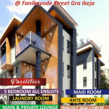 Tastefully Finished 5 Bedroom Fully Detached Smart House, Remi Fani-kayode Street,, Ikeja Gra, Ikeja, Lagos, Detached Duplex for Sale
